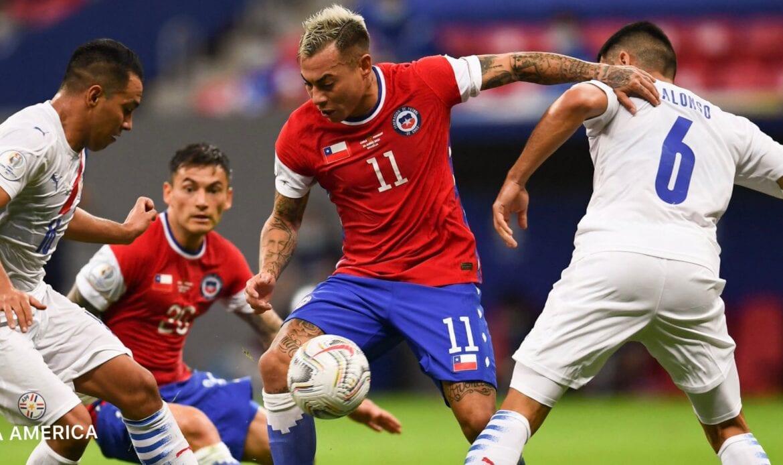 Paraguay le quitó a Chile el segundo lugar del grupo A en Copa America