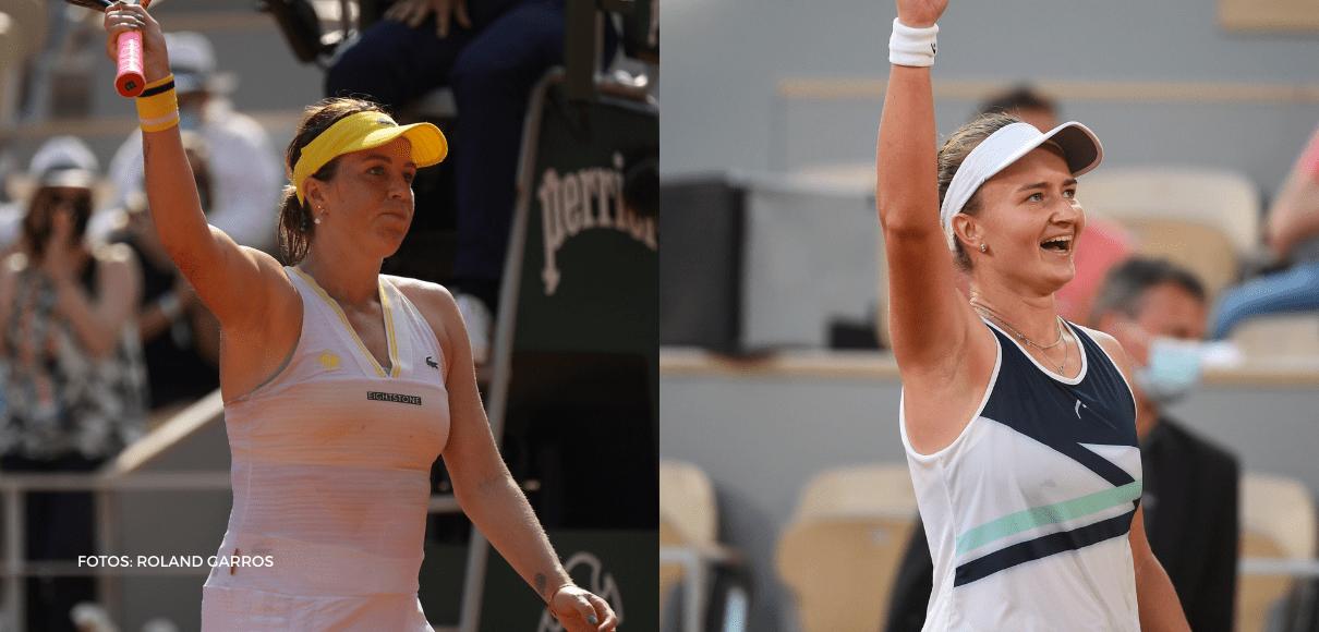Definida la final femenina de Roland Garros: Anastasia vs Barbora