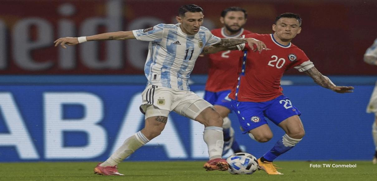 Argentina deja puntos en casa tras empatar con Chile