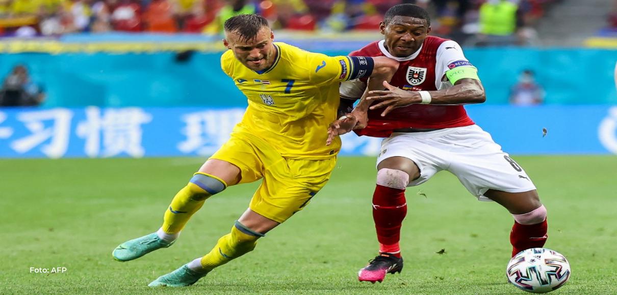 Austria le gana a Ucrania y se clasifica a los octavos de la Eurocopa