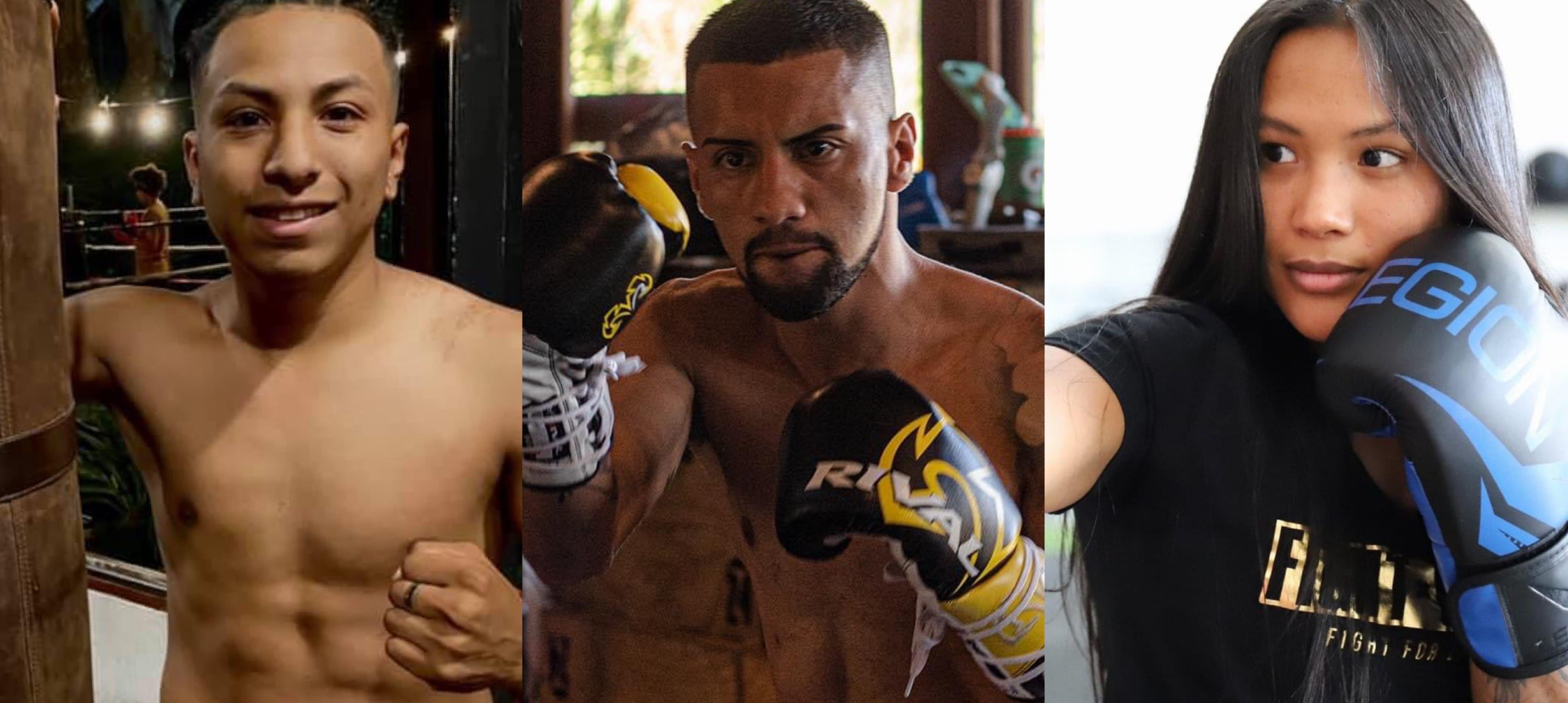 Tres ticos debutaron con victoria en el Boxeo Profesional