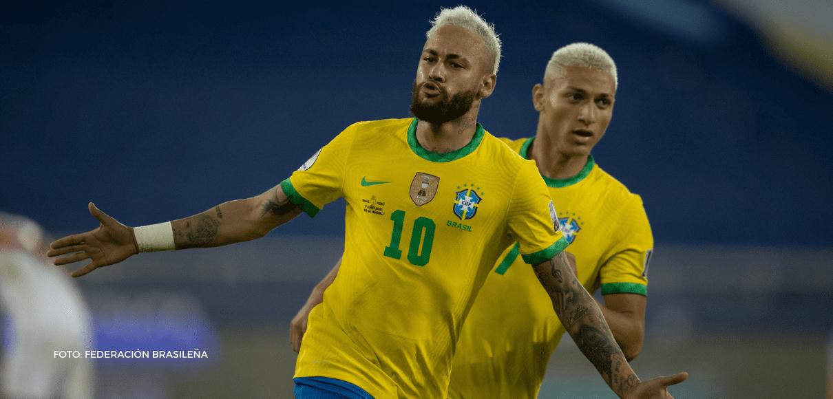 Brasil está volando en la Copa América