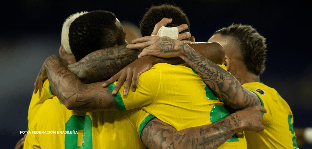 La Verde-amarela nunca ha perdido una Copa América jugada en Brasil