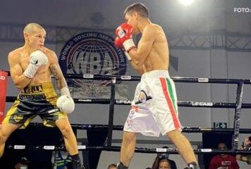"¡Campeón Mundial! David ""Medallita"" Jiménez ganó el título de 112 libras"