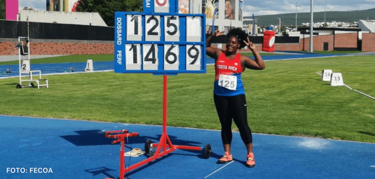 Deisheline Mayers impuso nuevo récord nacional en México