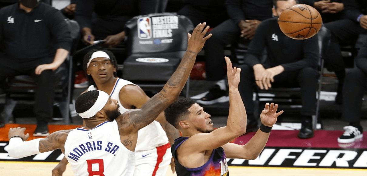 Los Clippers respiran con su primera victoria ante unos grises Suns