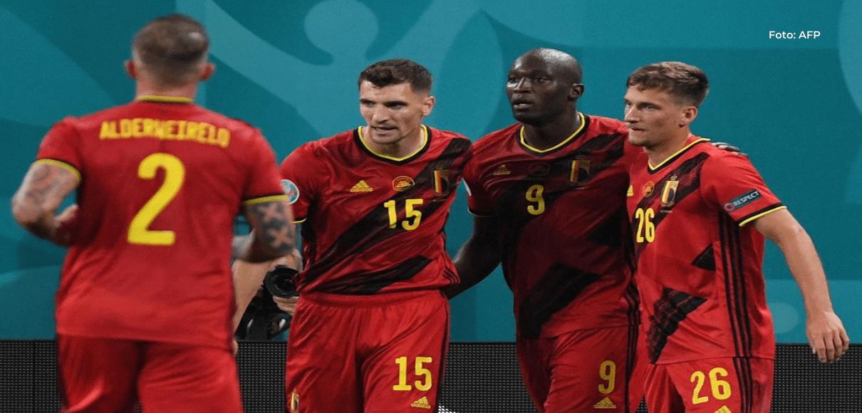 Bélgica hace la tarea goleando a Rusia en San Petersburgo