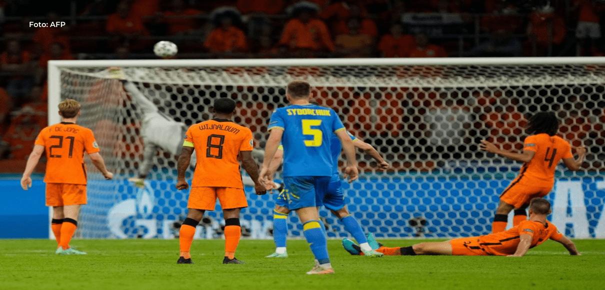 Países Bajos venció a Ucrania en un partido de antología