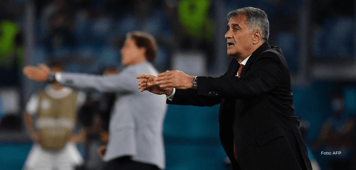 """""""Italia ha sido superior"""", admite el seleccionador turco Günes"""