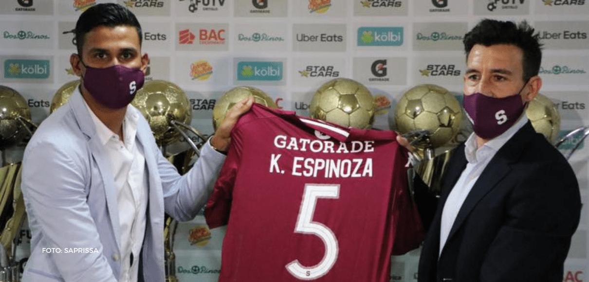 """Kevin Espinoza: """"Es un sueño estar en el equipo más grande"""""""