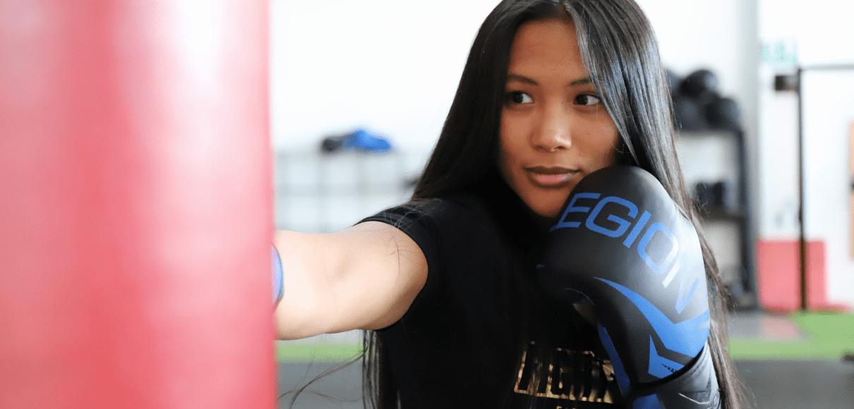"""""""La China"""" Rodríguez debutó con victoria en el boxeo profesional"""