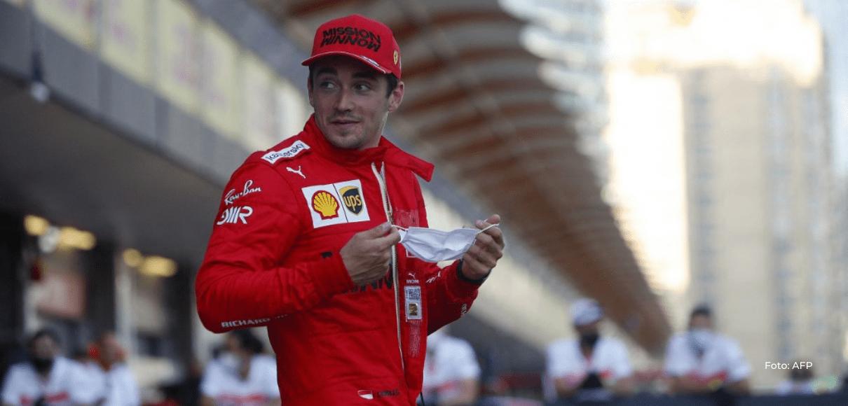 Leclerc repite pole en Azerbaiyán en una jornada accidentada