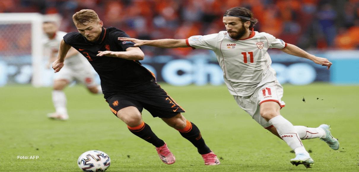 Países Bajos terminó de caminar en su grupo goleando a Macedonia del Norte