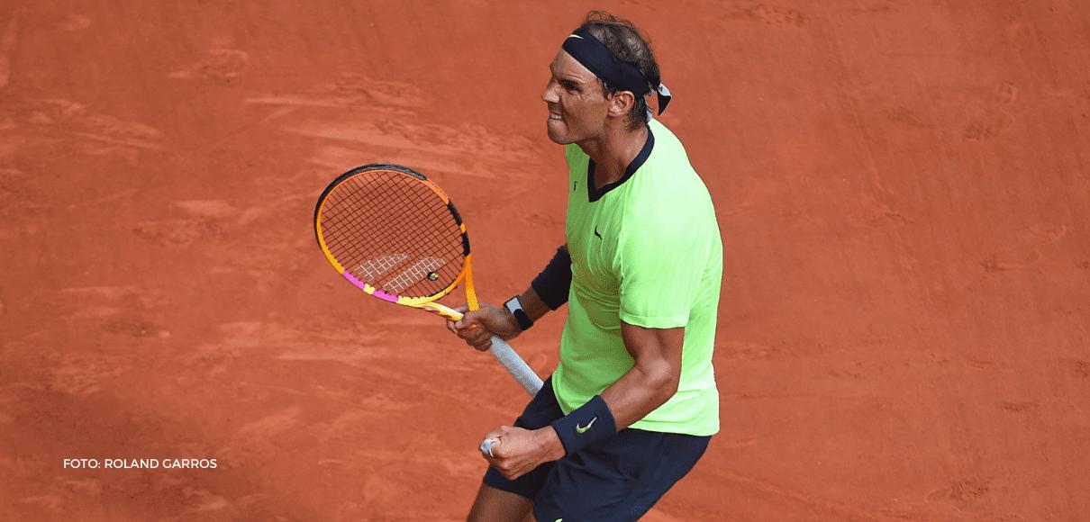 Nadal se metió en semis de Roland Garros