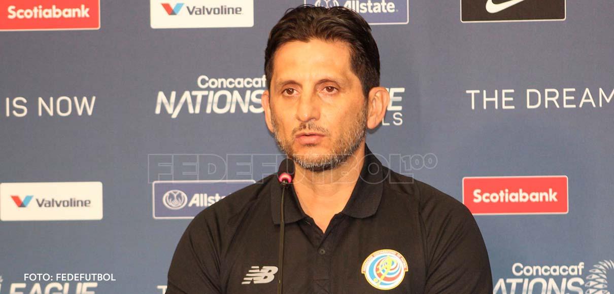 """Rónald González: """"Dichosamente no estamos en la eliminatoria"""""""