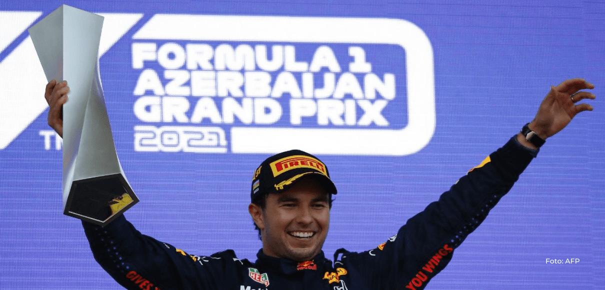 Mexicano Sergio Pérez reina en el caos del Gran Premio de Azerbaiyán