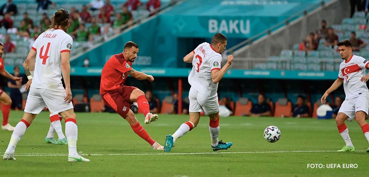 Suiza se dejó el tercer lugar del grupo A