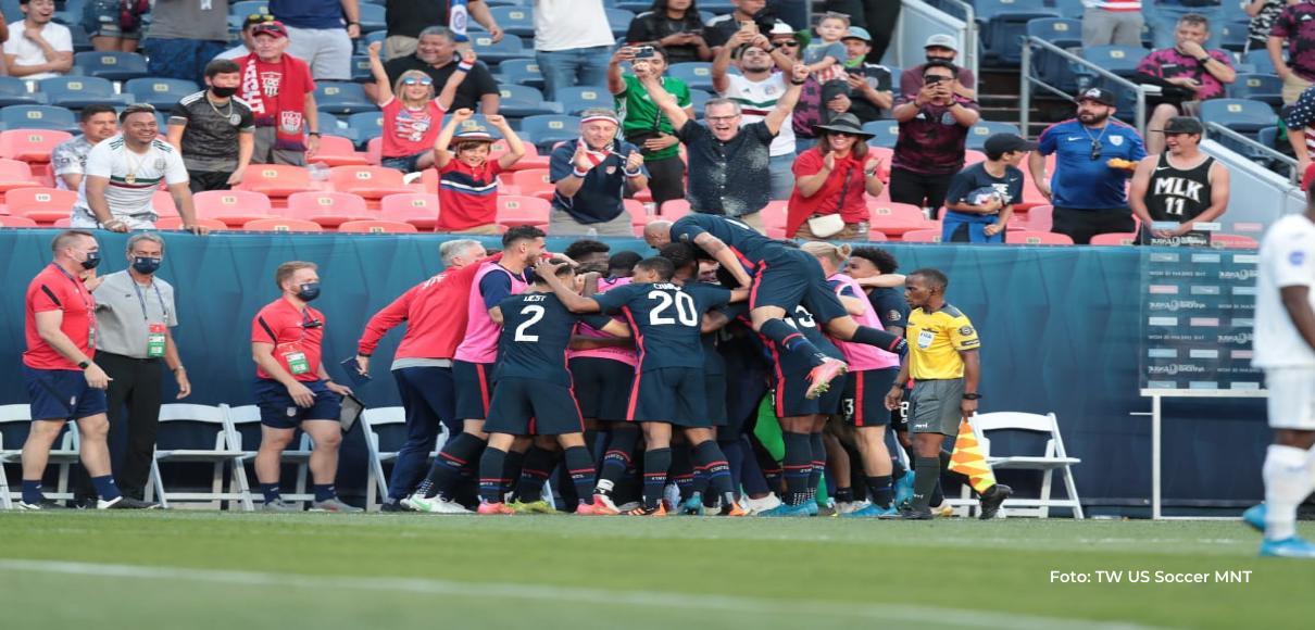 Estados Unidos vence a Honduras y es finalista de la Nations League