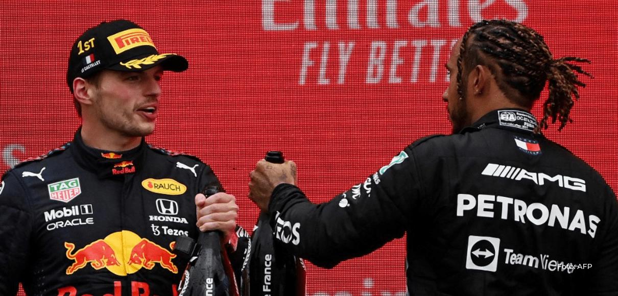 Verstappen derrota a Hamilton en un emocionante final en Francia