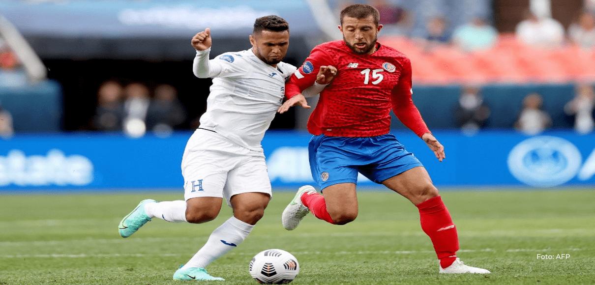 Alex López le cambió la cara a Honduras en la segunda mitad