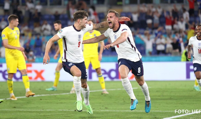 Inglaterra está en semifinales tras golear 0-4 a Ucrania