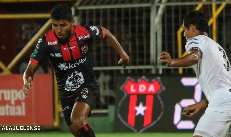 "Alajuelense empató sobre la hora ante Sporting en ""La Catedral"""