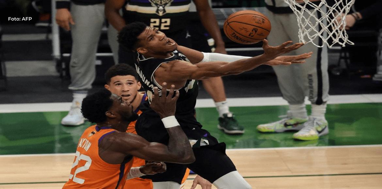 Milwaukee Bucks vence a los Phoenix Suns 105-98 y logra su primer título de NBA desde 1971
