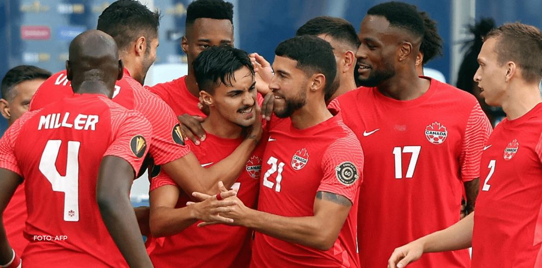Canadá llenó de goles a Haití