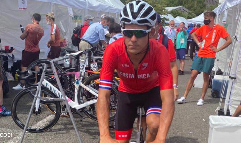 Andrey Amador ingresó de 68 en el ciclismo de ruta de los Juegos Olímpicos