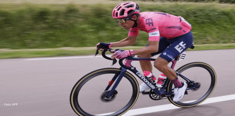 """""""El podio está por definirse"""", asegura Urán ante semana decisiva en el Tour"""