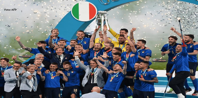 Italia conquista la Eurocopa tras ganar a Inglaterra en penales en Wembley