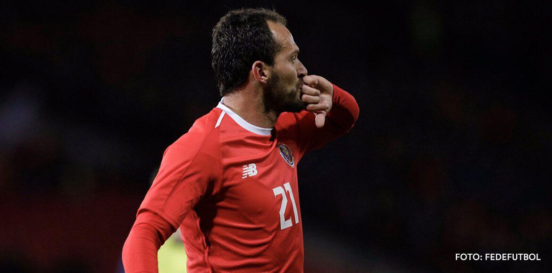 "Marco Ureña: ""Soy jugador de Selección, hice goles importantes"""