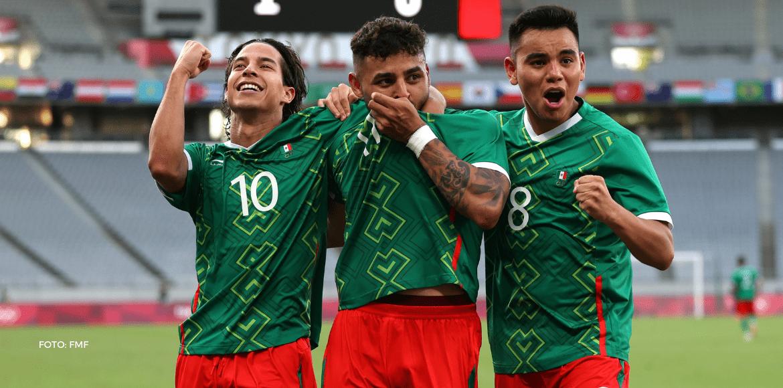 México humilló a Francia en los Juegos Olímpicos