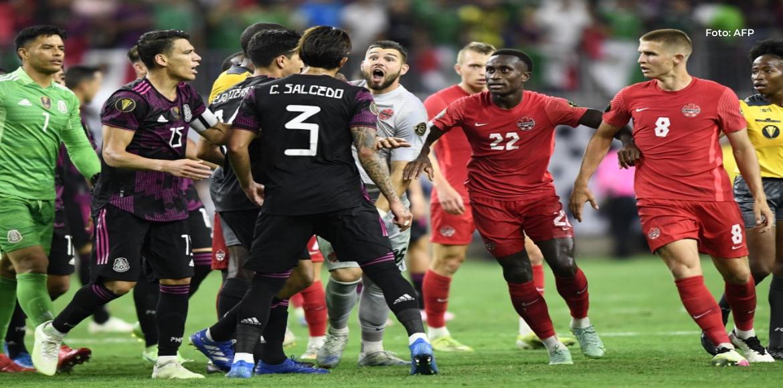 México se impuso 2-1 a Canadá y con sufrimiento avanzó a la final de la Copa Oro-2021