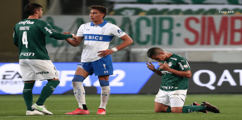 Un Palmeiras muy superior pasa a cuartos de Libertadores al ganar a la Católica