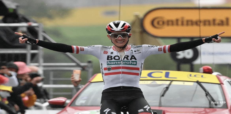 Konrad gana en solitario la 16ª etapa del Tour, Pogacar sigue líder
