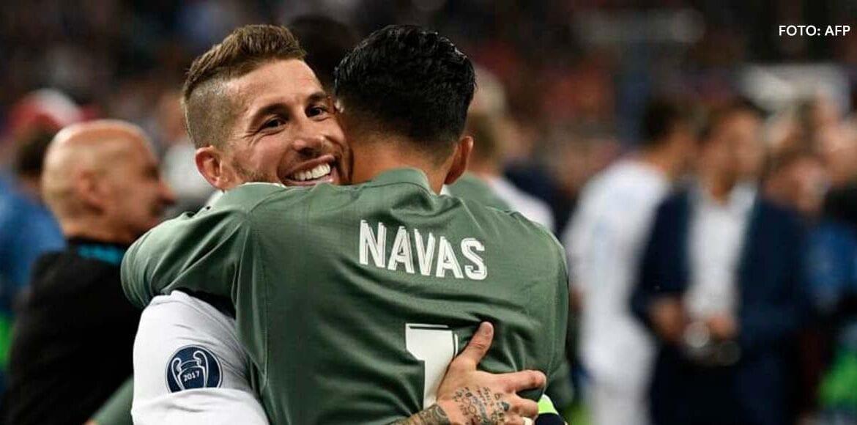 """Sergio Ramos sobre Keylor Navas: """"Es un hermano para mí"""""""