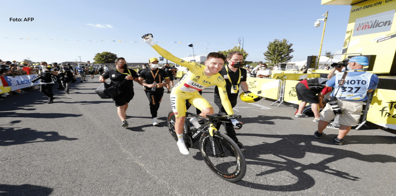 Van Aert gana la contrarreloj de la 20ª etapa del Tour de Francia