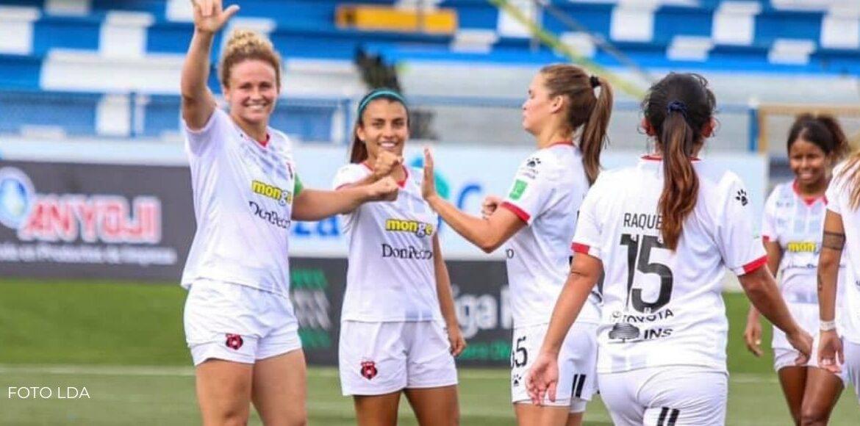 Alajuelense goleó a Suva Sports 1-7 en la Liga Femenina