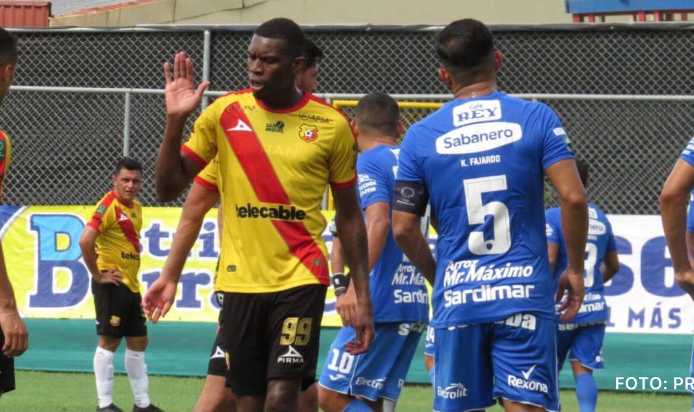 Jicaral venció 3-2 a Herediano y amargó debut con gol de Jewisson Bennett