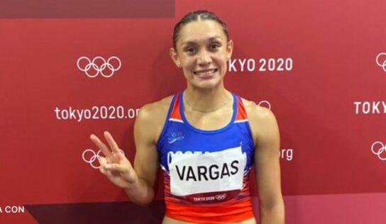 """Andrea Vargas: """"Quedé de novena a nivel olímpico, para mi es algo muy grande"""""""