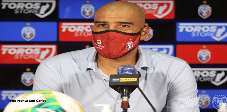Douglas Sequeira asume con responsabilidad su primera victoria con San Carlos