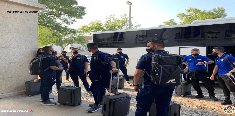 Selección de fútsal se encuentra en Portugal realizando campamento previo al Mundial