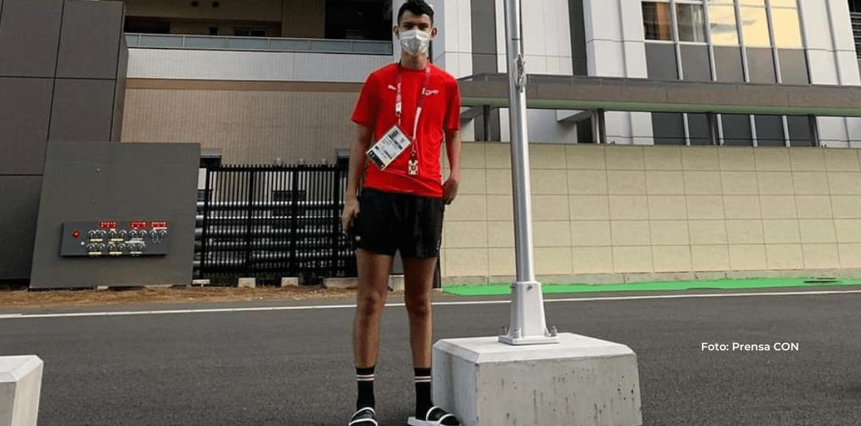 Steven Román listo e ilusionado por competir en Tokio