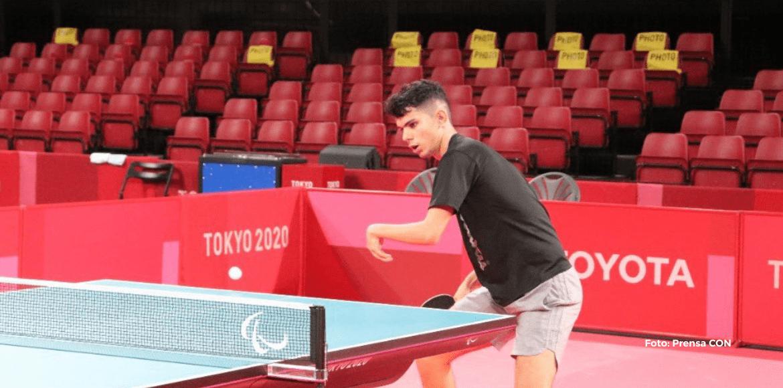 Steven Román perdió primer partido en Juegos Paralímpicos