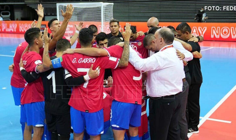 """Sele Futsal: """"Uno al mundial viene con la mentalidad de ser campeón"""""""