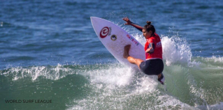 Leilani McGonagle y Brisa Hennessy finalizaron su participación en el US Open of Surfing