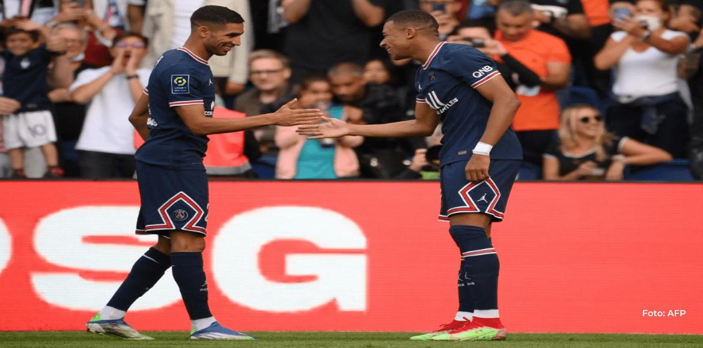 El París SG golea al Clermont pese a jugar sin Messi, Neymar ni Keylor Navas