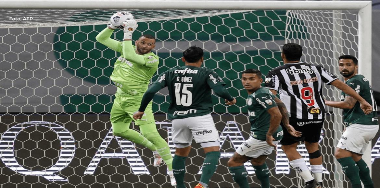 Mineiro firma empate con sabor a poco ante Palmeiras en Libertadores