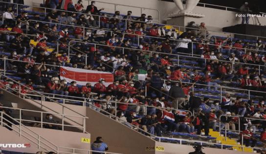 Costa Rica se medirá a El Salvador con un aforo del 15% en el Estadio Nacional